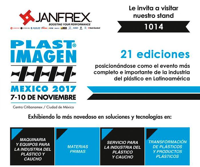 Janfrex en Plastimagen 2017