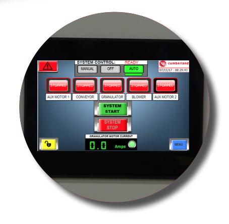 control molino t50 industria 4.0
