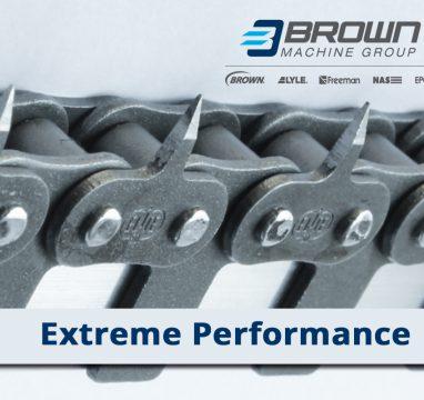 ¿La cadena de su termoformadora se desgasta muy rápido? Extreme Performance