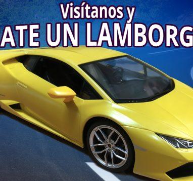 Gánate un Lamborghini con JANFREX, te decimos cómo