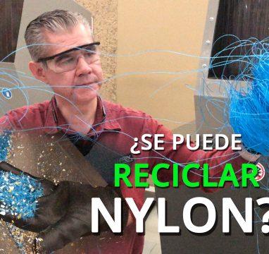 Molino para Plástico reduciendo Nylon