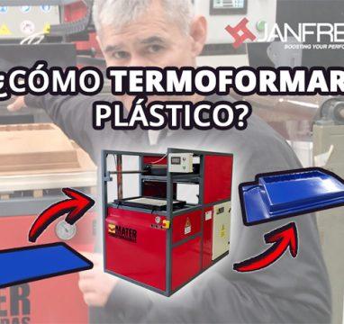 ¿Cómo termoformar plástico? Termoformadora MATER Mini